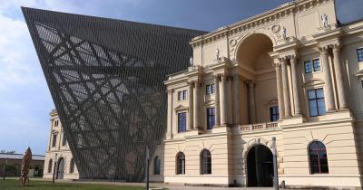 Militärhistorisches Museum Dresden - Aussenansicht