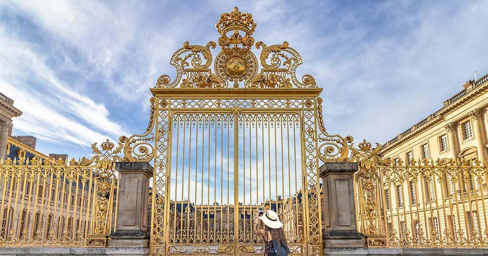 Versailles - goldenes Tor