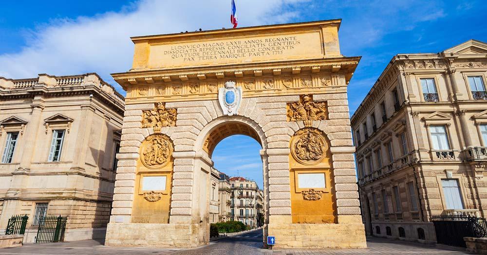Montpellier - Arc Triomphe