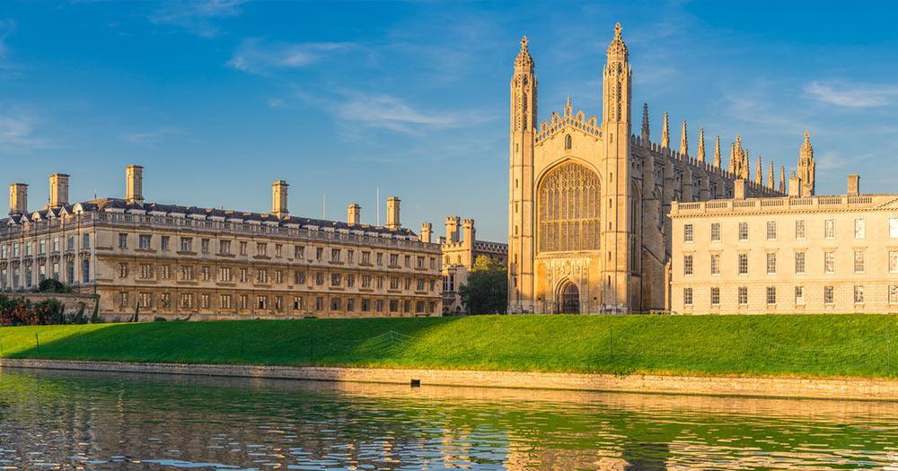 Cambridge - Panoramablick