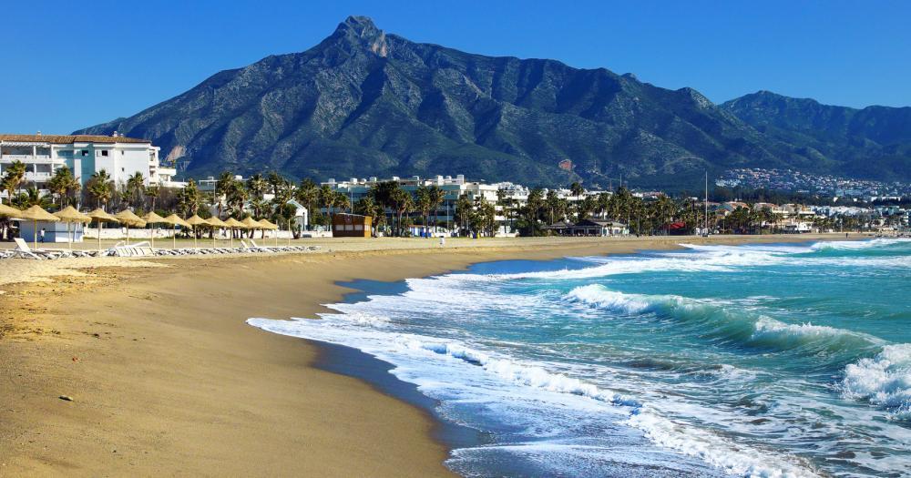 Marbella - Blick auf den Strand