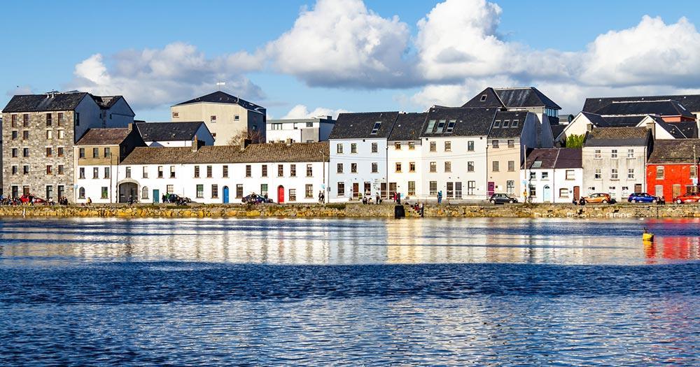 Galway - Häuserfront