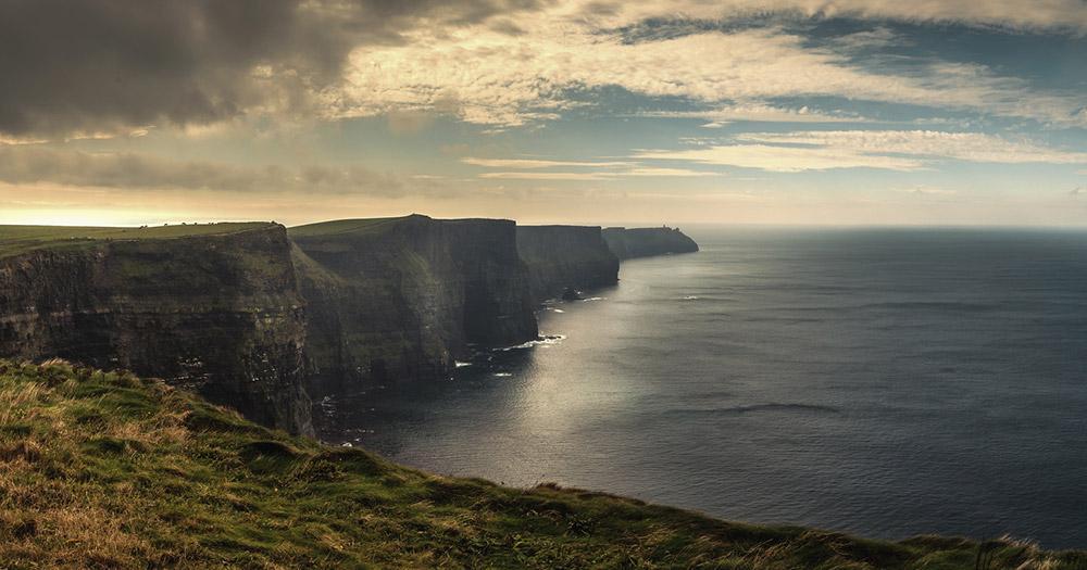 Galway - Blick auf die Klippen