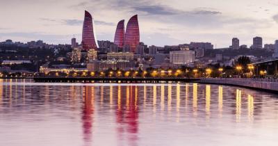 Baku - Blick auf die Skyline