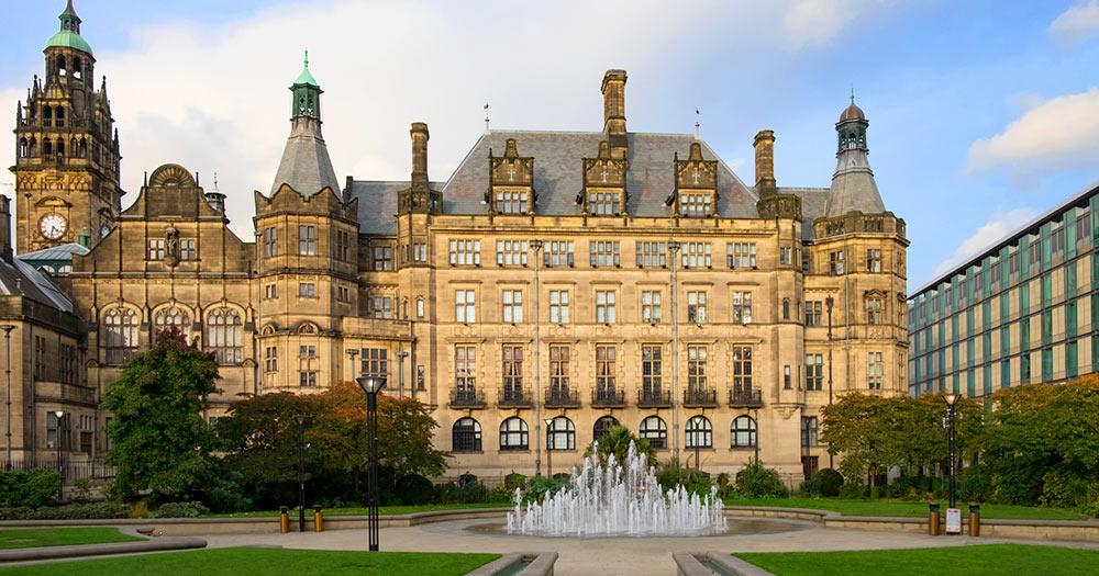 Sheffield - Town Hall